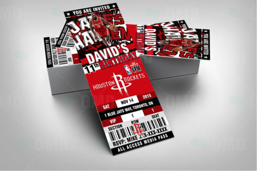 Houston Rockets - Invite 1 - Product 2