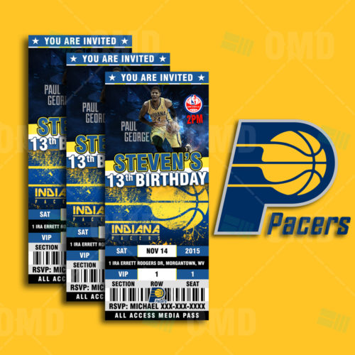 Indiana Pacers - Invite 1 - Product 1