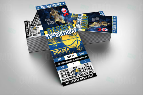 Indiana Pacers - Invite 1 - Product 2