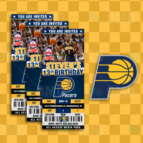 Indiana Pacers - Invite 2 - Product 1