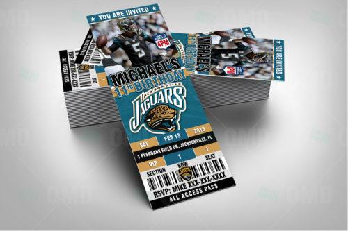 Jacksonville Jaguars - Invite 1 - Product 2