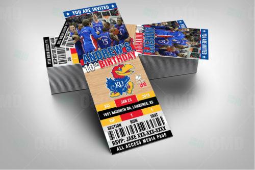 Kansas Jayhawks Basketball - Invite 1 - Product 1