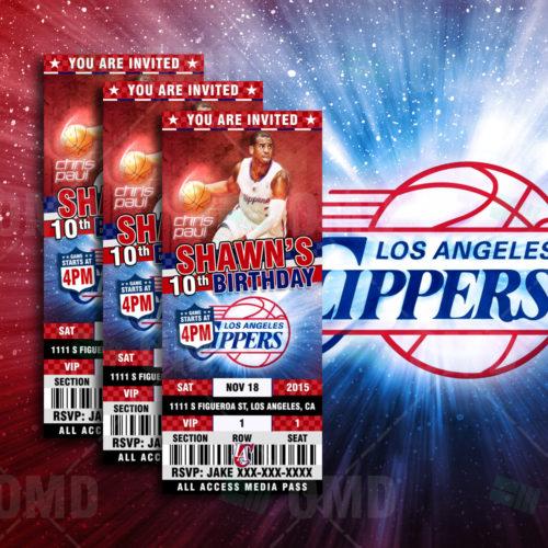 Los Angeles Clipper - Invite 1 - Product 1