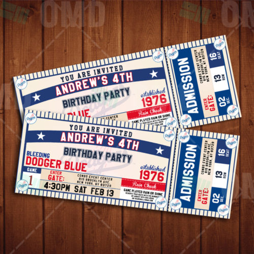 Los Angeles Dodgers - Invite 2 -Product 1