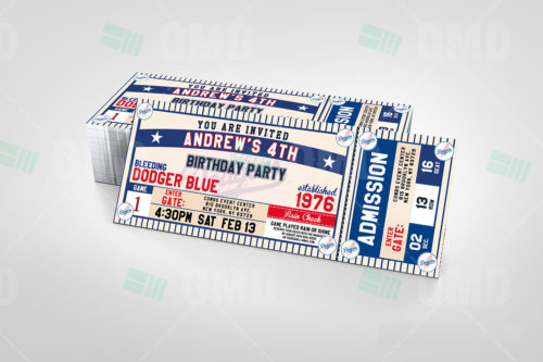 Los Angeles Dodgers - Invite 2 -Product 2