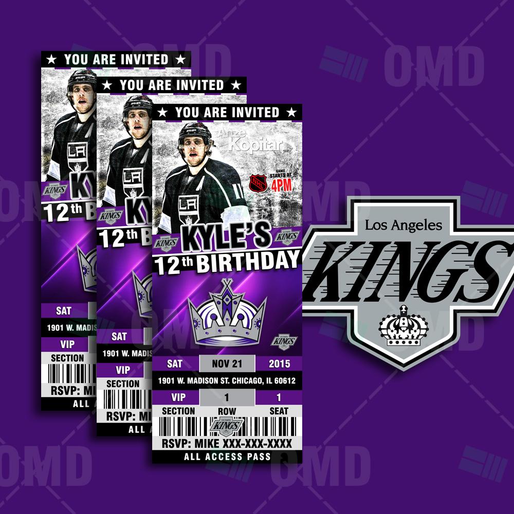 Los Angeles Kings Birthday Cake