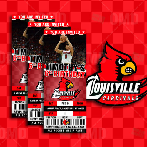 Louisville Basketball - Invite 2 - Product 1