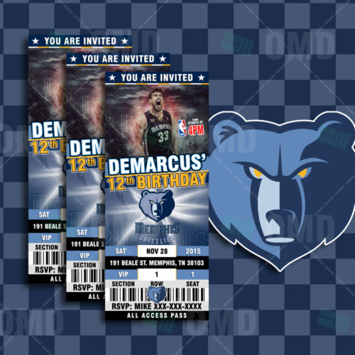 Memphis Grizzlies - Invite 1 - Product 1