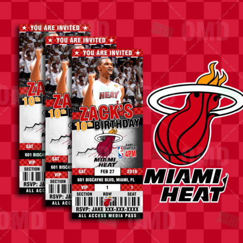 Miami Heat - Invite 2 - Product 1