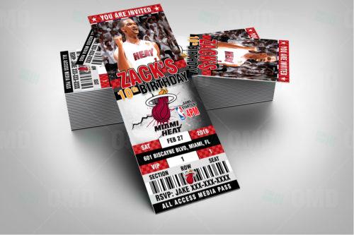 Miami Heat - Invite 2 - Product 2