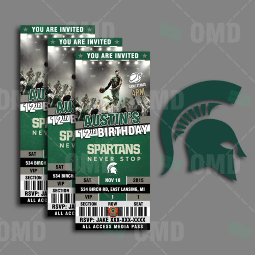 MichiganSt - Invite - Product 1