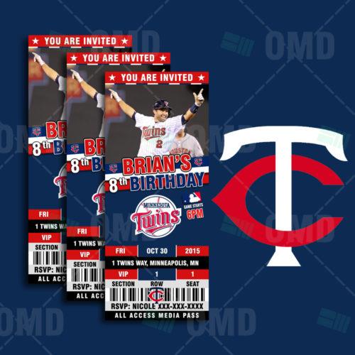 Minnesota Twins - Invite 1 - Product 1