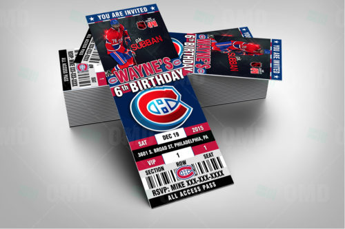 Montreal Canadiens - Invite 1 - Product 2