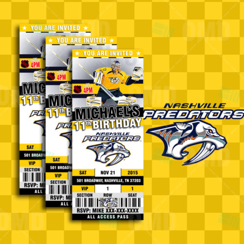 Nashville Predators - Invite 1 - Product 1
