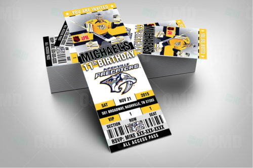 Nashville Predators - Invite 1 - Product 2