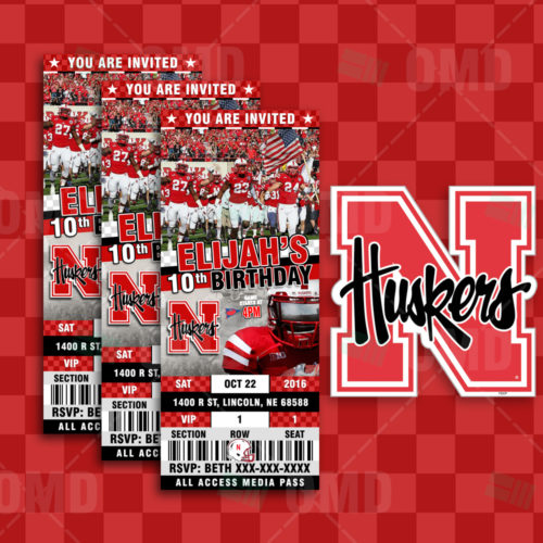 Nebraska - Invite 2 - Product 1-1