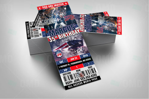 New England Patriots - Invite 2 - Product 2