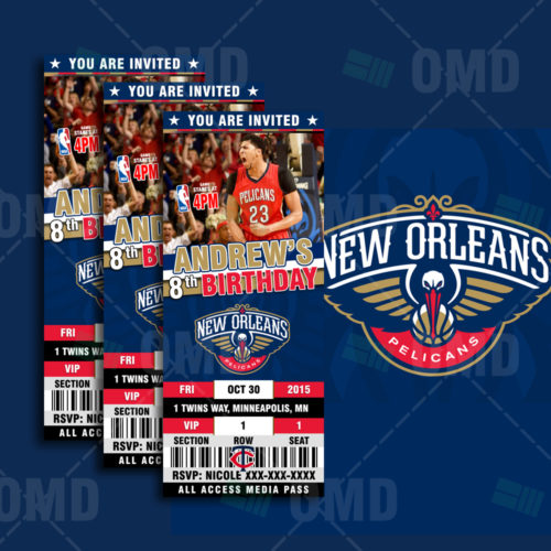 New Orleans Pelicans - Invite 1 - Product 1