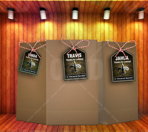 New Orleans Saints - Bag Tag - Product 2