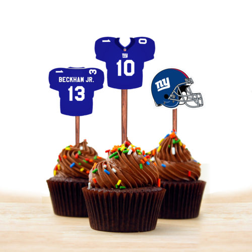 New York Gaints - Cupcake Topper 1 - Product 1
