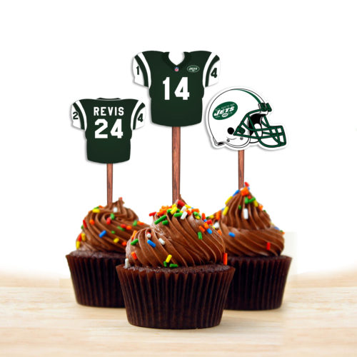 New York Jets - Cupcake Topper 1 - Product 1