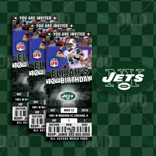 New York Jets - Invite 2 - Product 1