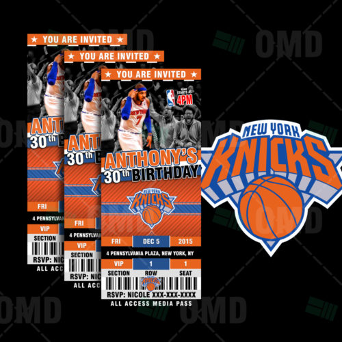 New York Knicks - Invite 1 - Product 1