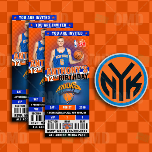 New York Knicks - Invite 2 - Product 1
