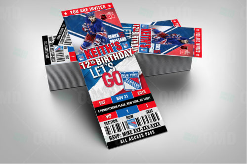 New York Rangers - Invite 1 - Product 2