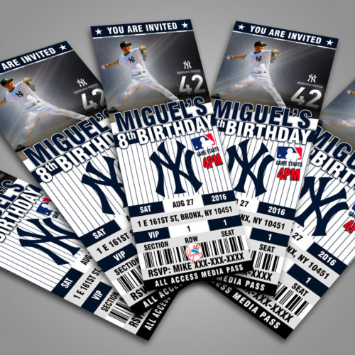 New York Yankees Baseball - Invite 1 - Product 3