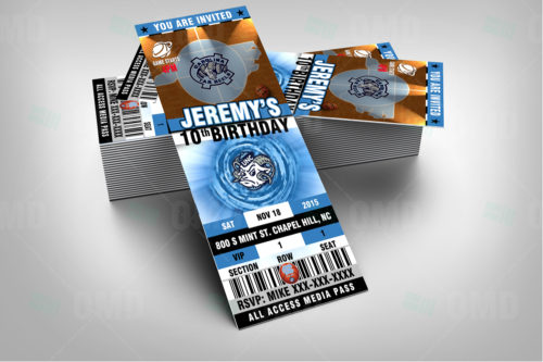North Carolina Basketball - Invite 1 - Product 2