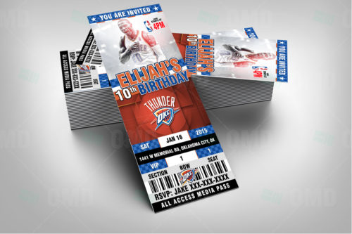 OKC Thunder - Invite 2 - Product 2