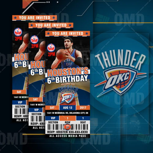 OKC Thunder - Invite 3 - Product 1