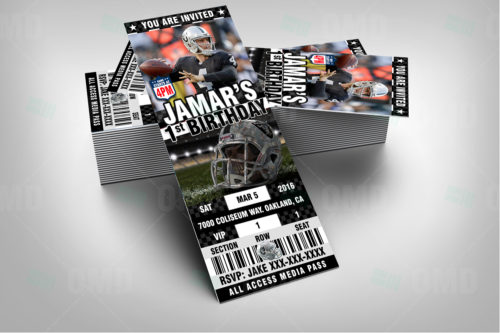 Oakland Raiders - Invite 2 - Product 2