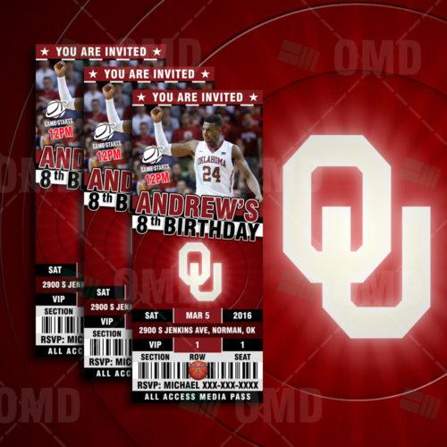 Oklahoma Sooners Basketball - Invite 1 - Product 1