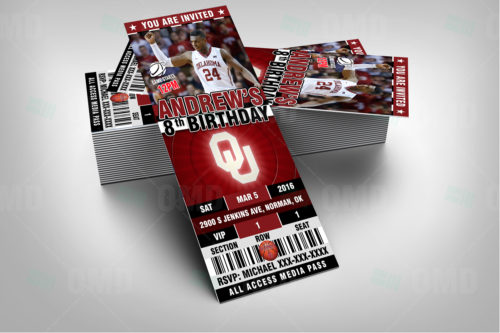 Oklahoma Sooners Basketball - Invite 1 - Product 2