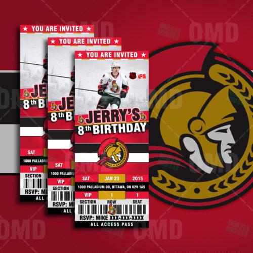 Ottawa Senators - Invite 1 - Product 1
