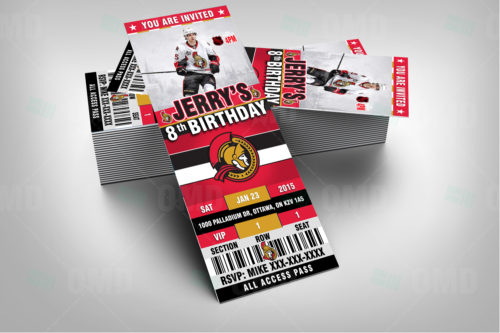 Ottawa Senators - Invite 1 - Product 2