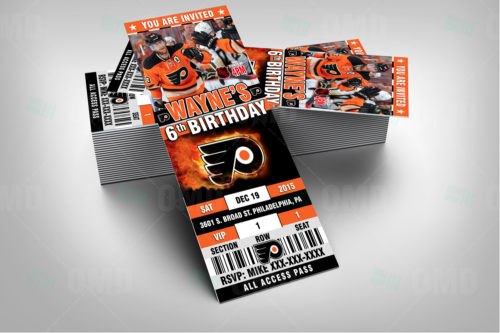 Philadelphia Flyers - Invite 1 - Product 2