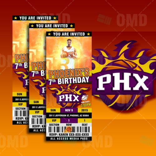 Phoenix Suns - Invite 1 - Product 1