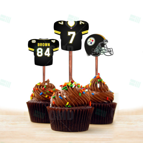 Pittsburgh Steelers - Cupcake Topper 1 - Product 1