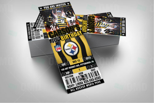 Pittsburgh Steelers - Invite 2 - Product 2