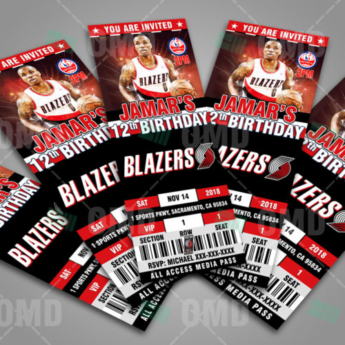 Portland Trail Blazers - Invite 1 - Product 3