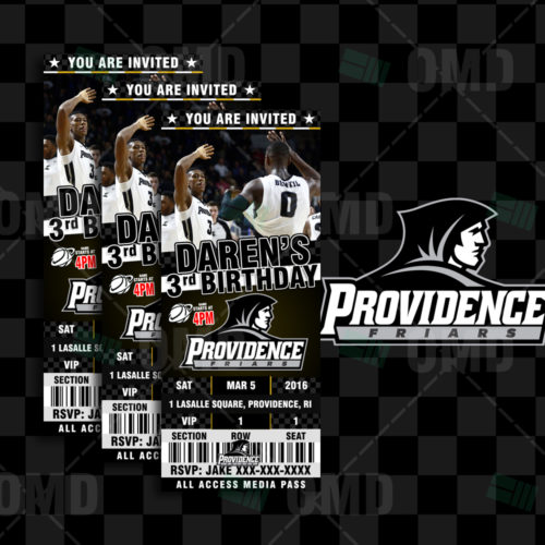 Providence Friars - Invite 1 - Product 1
