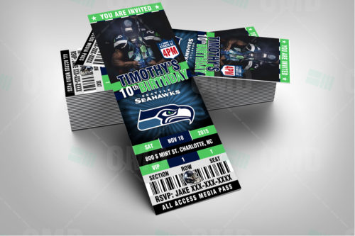 Seattle Seahawks - Invite 1 - Product 2