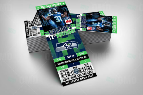 Seattle Seahawks - Invite 2 - Product 2