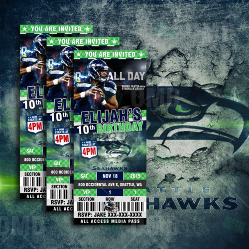 Seattle Seahawks - Invite 3 - Product 1