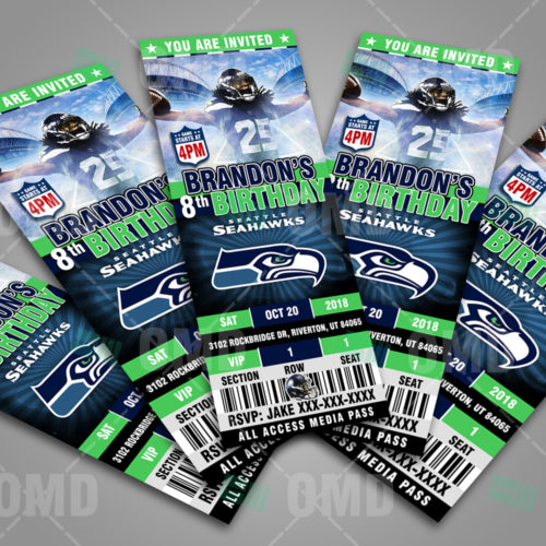 Seattle Seahawks - Invite 4 - Product 2