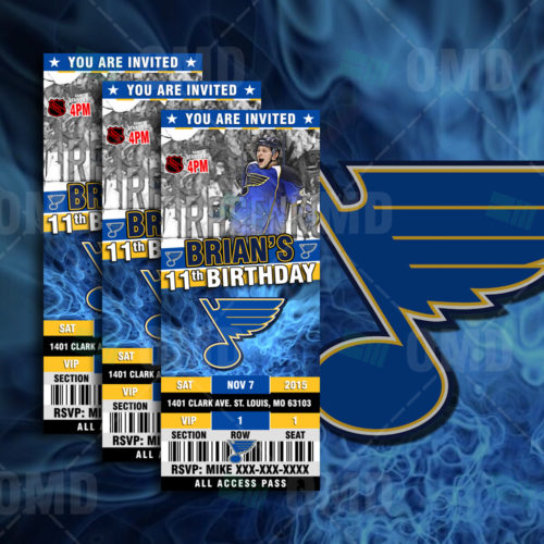 St Louis Blues - Invite 1 - Product 1