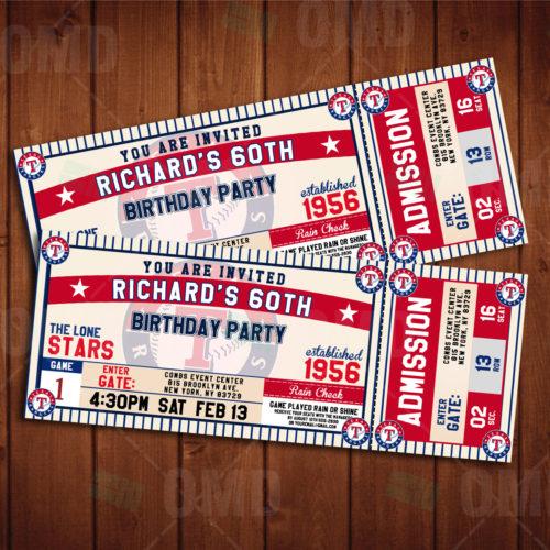 Texas Rangers - Invite 2 - Product 1